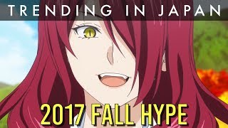5 Hypest Upcoming Fall 2017 Anime