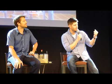 Jibcon 2014 - Jensen & Misha Panel Sunday (Part 2/2)