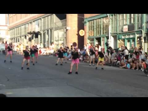Seattle's SeaFair 2015 Sing and Dance LineDance Group of  Evelyn Chan's