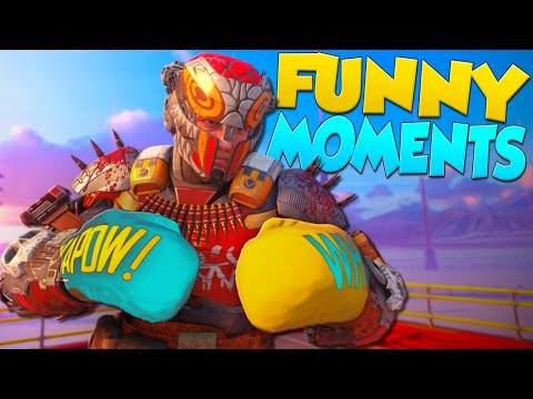 Black Ops 3 Funny Moments - Prizefighters, Raging, Boxing Match!