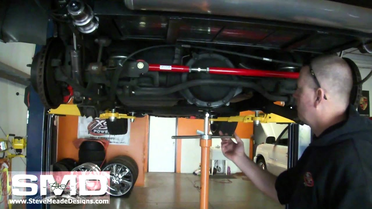 SPOHN PERFORMANCE     Chevy    Tahoe Adjustable UpperLower Rear Control Arms  YouTube