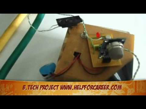 Top B Tech Projects in India Gas Leakage Alarm helpforcareer com
