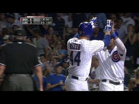 Rizzo hits two-run homer for second of game