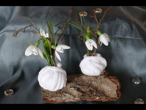 Frühlingsdeko basteln– super einfach / tinker spring decoration