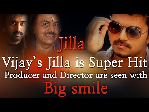 Vijay's Jilla Is Super Hit Producer & Director Are Seen With Big Smile - Red Pix 24x7 video