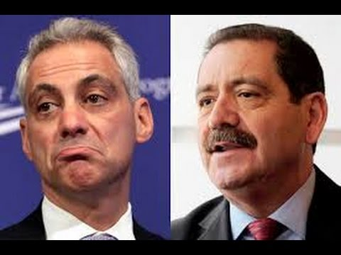 Chicago Mayoral Debate 2015 March 26 2015 (2nd Debate) Mayor Rahm Emanuel vs Jesus
