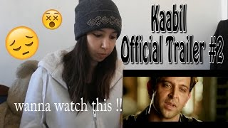 Kaabil Official Trailer #2 - Hrithik Roshan - Yami Gautam  _ REACTION