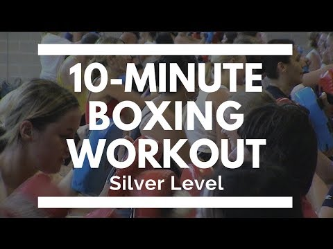 10 minute Boxing Workout - Silver Level for Home, Park, Anywhere Image 1