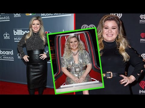 Kelly Clarkson looked every inch the pop music sensation as she flaunted her newly trimmed figure
