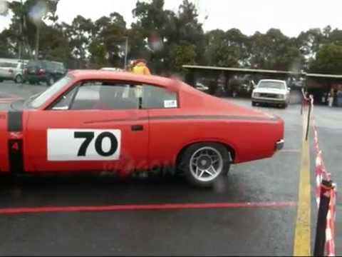 VALIANT CHARGER R/T HEMI 245 retro RACING MOVIE