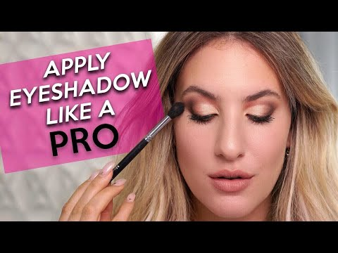 HOW TO APPLY EYESHADOW LIKE A PRO: Everything You Need to Know! | Jamie Paige