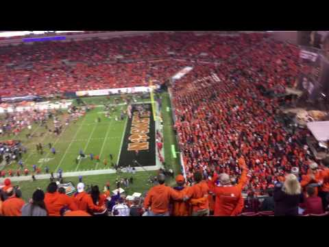Postgame Alma Mater - Clemson Wins the National Championship!