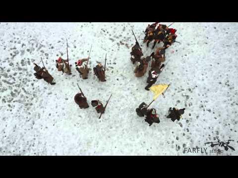 FARLY. Реконструкция эпизода сражения войны 1812 года.