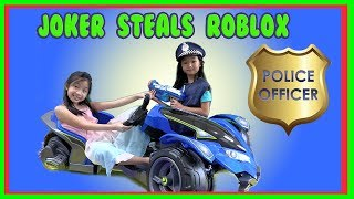 Pretend Play POLICE with Ryan's Toy Review inspired- I MAILED MYSELF to Ryan ToysReview and it WORK4