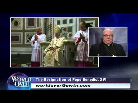 World Over Special on the resignation announcement of Pope Benedict XVI