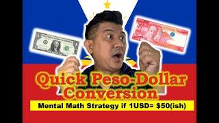 US Dollar & Philippine Peso Conversion made Easy