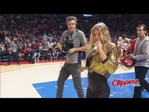 LA Clippers, surprising performance by Fergie, Steve Ballmer