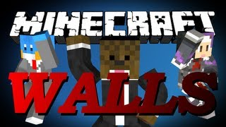 HILARIOUS Minecraft The Walls Minigame w/ HuskyMudkipz, SetoSorcerer and JeromeASF #2