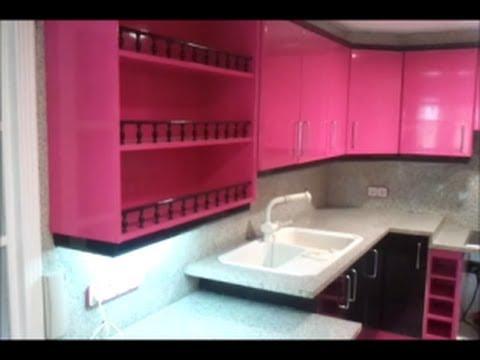 Lacado muebles cocina youtube for Muebles plateros cocina