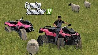 Farming Simulator 2017 | NEW ATV | Drumard Farm | Episode 12