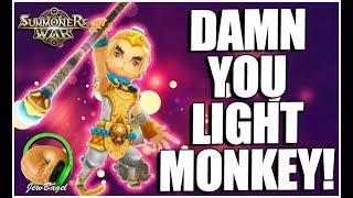 SUMMONERS WAR : Damn You Light Monkey!!!