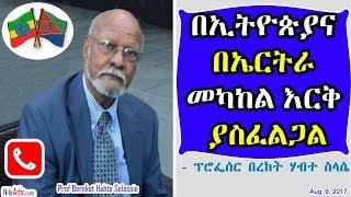 በኢትዮጵያና በኤርትራ መካከል እርቅ ያስፈልጋል - Interview with Prof Bereket Habte Selassie - SBS