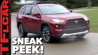 2019 Toyota RAV4 Review: Here's Your Early Look at Toyota's Best Selling New Car!