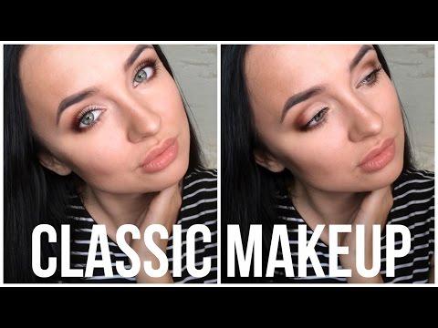 Классический макияж  |   Макияж для нависшего века