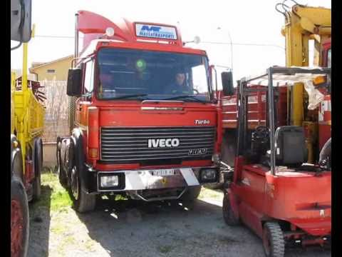 Iveco 190-38 Turbo Special a Paglieta (CH). Video del 31-03-2010
