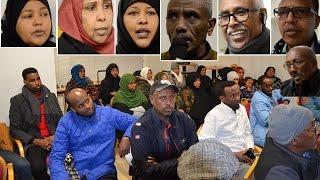 Dadka Reer Somaliland ee Norway Oo Kulan Baroordiiq ah u Qabtay Marxuun Cawke.