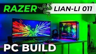 Razer Edition Lian Li PC-O11 Dynamic PC Build - Part 2