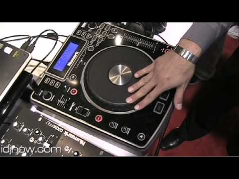 NUMARK NDX800 PROFESSIONAL MP3 CD USB PLAYER AND CONTROLLER AT NAMM 2010 WITH IDJNOW