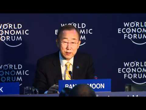 Davos 2012 - Press Conference Briefing with Ban Ki-moon, Secretary-General, United Nations