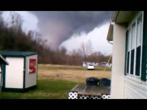 Gigantesco tornado en USA