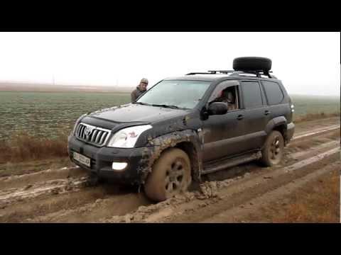 Toyota LC Prado 4.0 Не проехали по глине