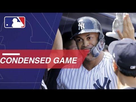 Condensed Game: TEX@NYY - 8/12/18
