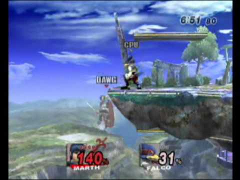 Marth vs Falco