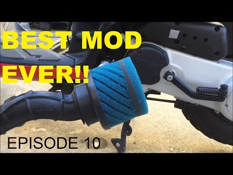 BEST FREE MOD FOR A FASTER SCOOTER - EPISODE 10