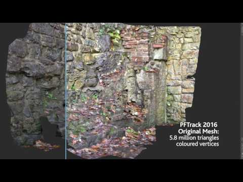 PFTrack 2017 - Automated. multi-layer texture extraction