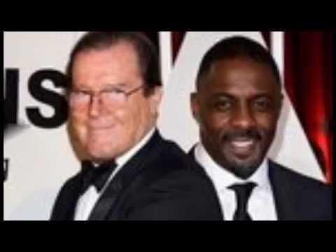 James Bond star Sir Roger Moore denies racism towards Idris Elba - Breaking News - 28-03-2015