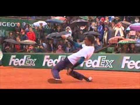 French Open Dance-Off: Gael Monfils vs Laurent Lokoli