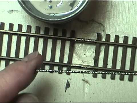 Model Railroad Soldering   #3 Track & Feeders