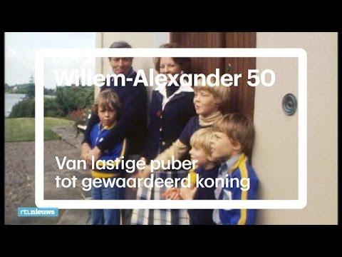 Willem-Alexander: van lastige puber tot gewaardeerd koning