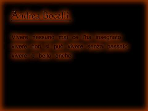 Andrea Bocelli and Laura Pausini  Dare To   Lyrics