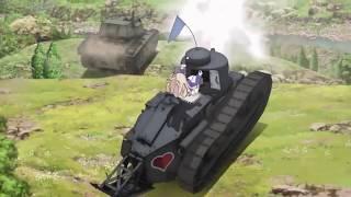 Girls und Panzer Das Finale OVA 01 (Snippets)