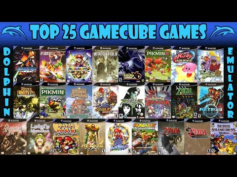 Dolphin Emulator   Top 25 Nintendo GameCube Games of All Time! [1080p HD]