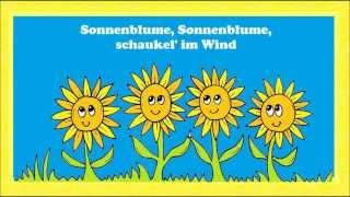 Sonnenblume - Ein Einfaches Sommerlied Für Kinder