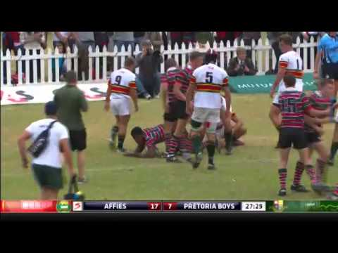 Mutual and Federal Premier Interschools – Affies vs Pretoria Boys High - Highlights