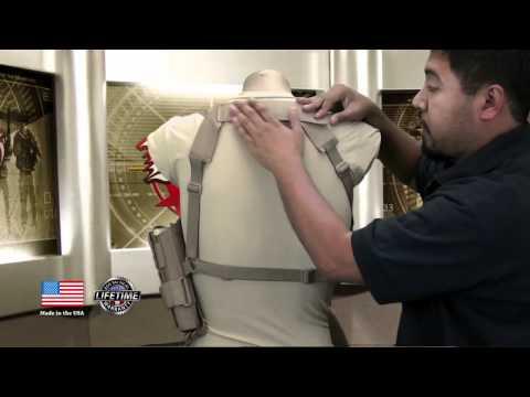BDS Tactical Vertical Shoulder Holster