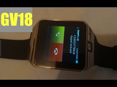 GV18 Aplus inteligente Smart Watch Phone  (samsung gear 2 clone) | First Look